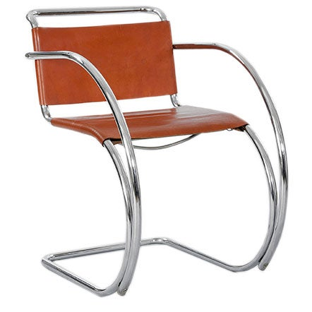 pair of d42 bauhaus chairs by mies van der rohe at 1stdibs