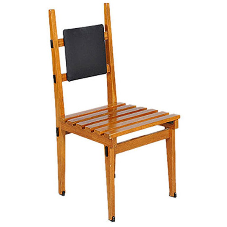 Pair Of Italian Modernist Chairs For Sale At 1stdibs