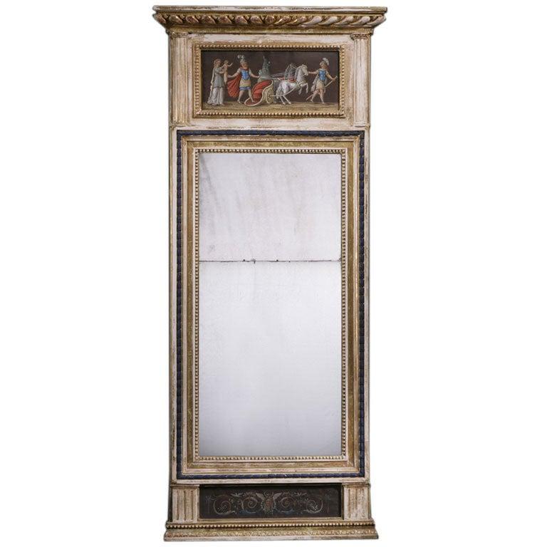 Swedish Empire Mirror, circa 1800