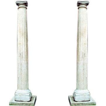 Doric Limestone Columns