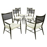 Set Six Paul McCobb Connoisseur Collection Mahogany Chairs