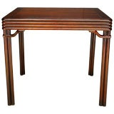 Baker Far East Game Table With Two Self-Storing Leaves