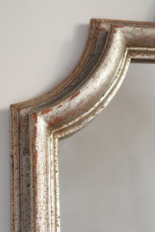 Silver Gilt Italian Mirror By Fratelli Paoletti Of