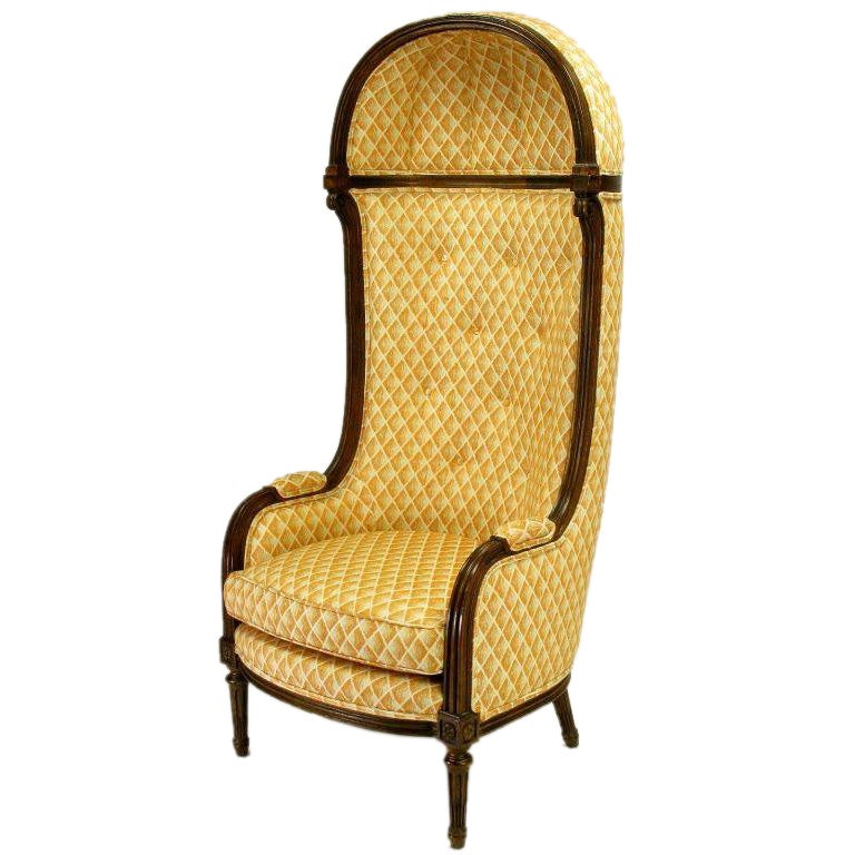 Louis xvi style porter s chair by interior crafts