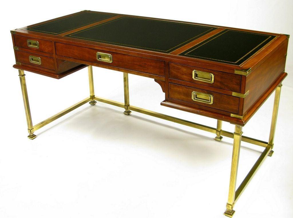 Antique Campaign Desk - Antique Campaign Desk Antique Furniture