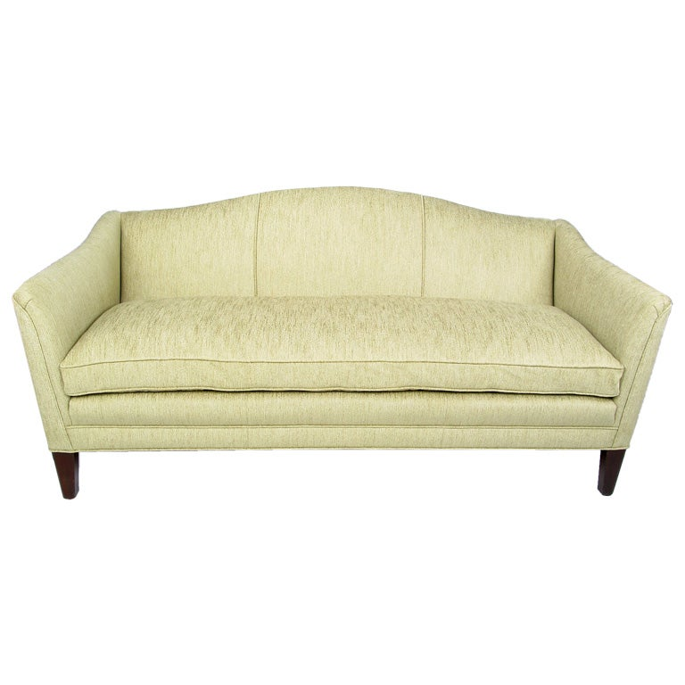 Edward Wormley 1930s Camel Back Sofa For Dunbar At 1stdibs