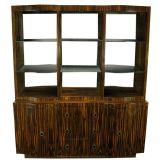 Macassar Ebony Sideboard With Hutch By Interior Crafts