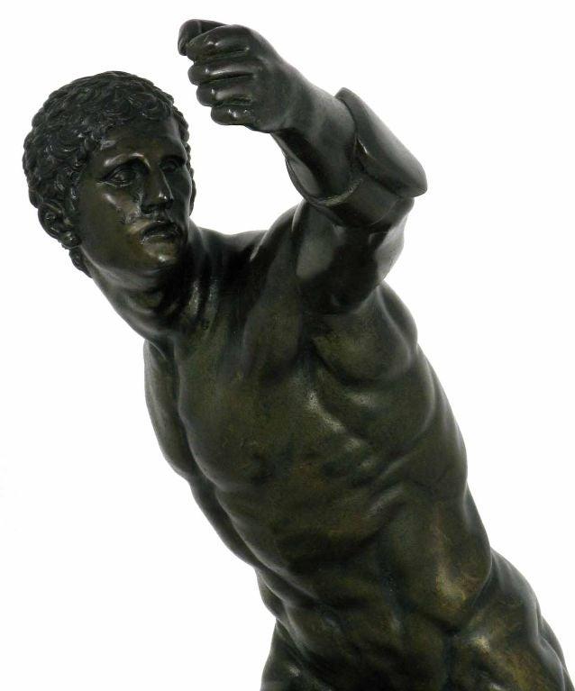 Very Fine Bronze Sculpture Depicting An Ancient Greek