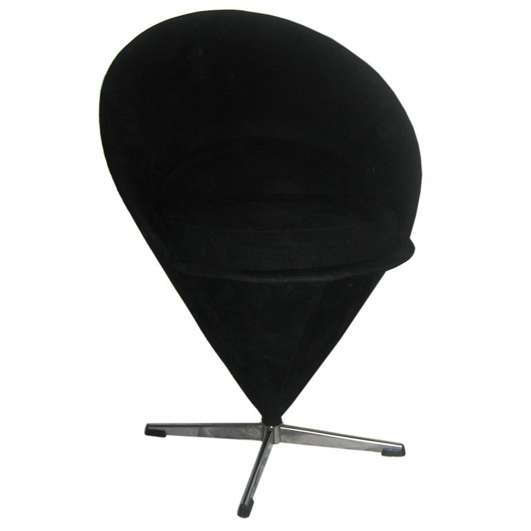 verner panton cone chair at 1stdibs. Black Bedroom Furniture Sets. Home Design Ideas