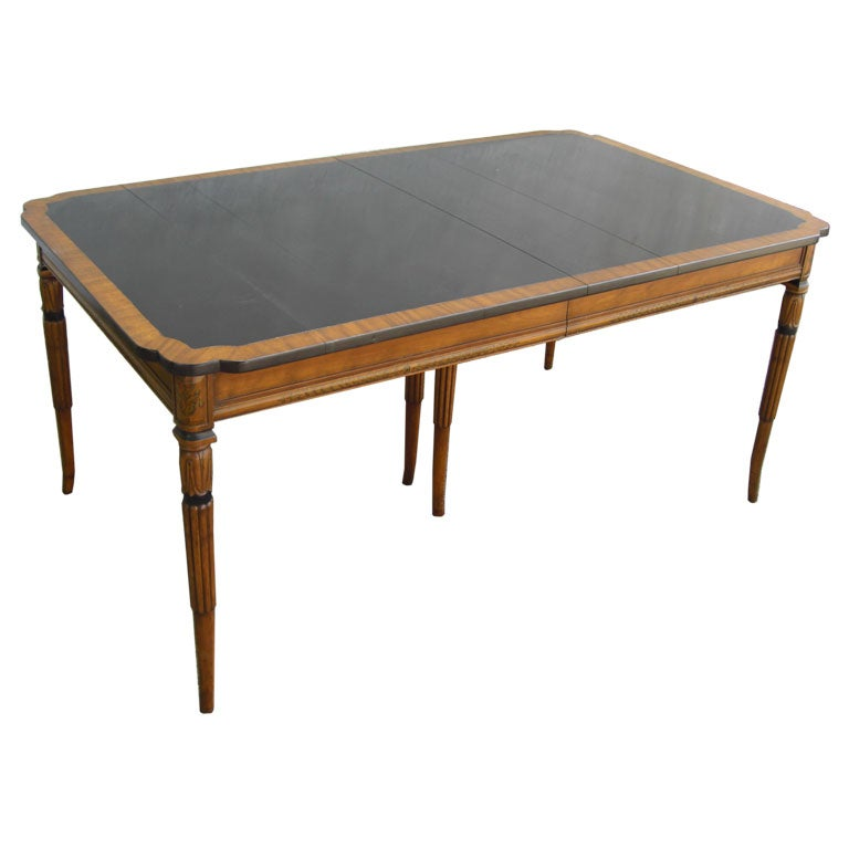 1924 extension dining table at 1stdibs