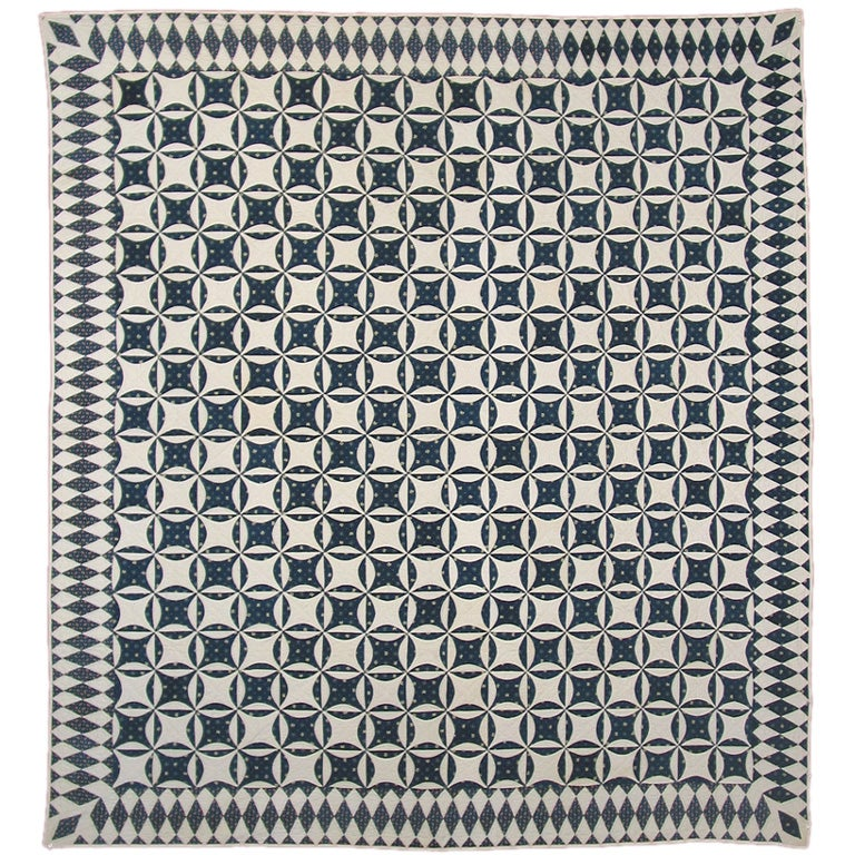 "Antique Quilt, ""Robbing-Peter-to-Pay-Paul"" For Sale"