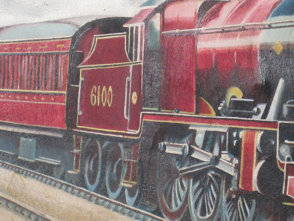 Royal Scot Locomotive 4