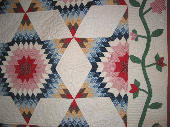 American antique quilts are collected by aficionados from all over the world.  The extraordinary skill of the quilters who made them in the 19th and early 20th-Centuries is a symbol of American creativity and determination.  This exceptional
