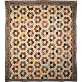 Antique Quilt, Mosaic/Honeycomb