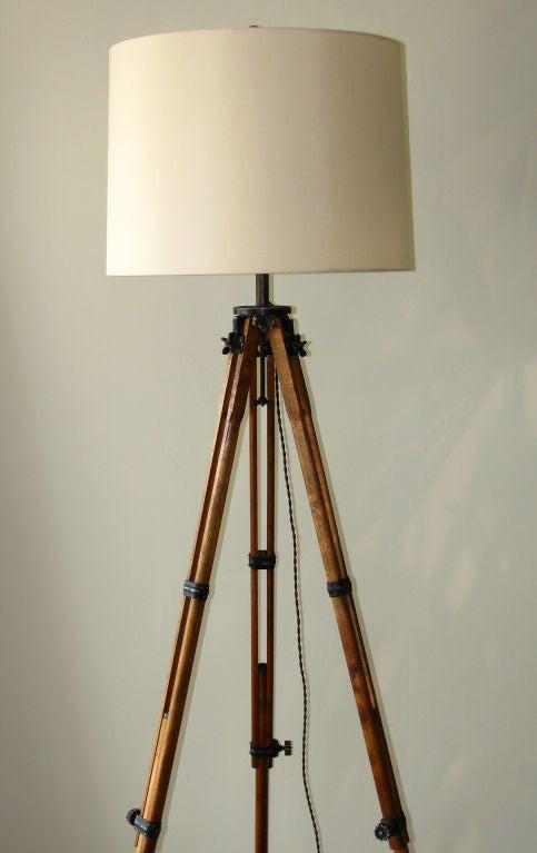 antique tripod floor lamp 3