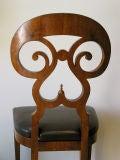 """Biedermeier """"Double Scroll"""" Side Chair image 4"""