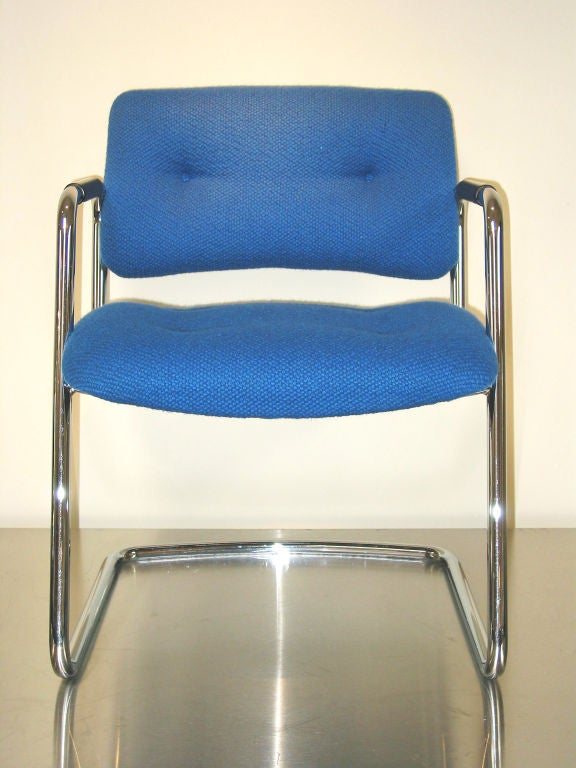 Set of Four Vintage Steelcase Chairs 3