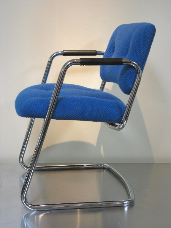 Set of Four Vintage Steelcase Chairs 2