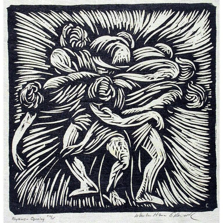 Original Woodcut By Wharton Esherick 1922 At 1stdibs