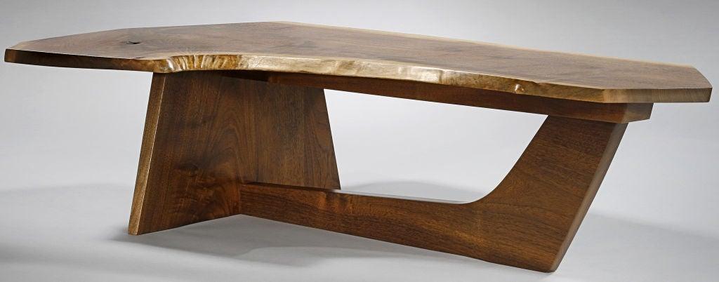 Rare Sled Based Coffee Table By George Nakashima 1985 At 1stdibs