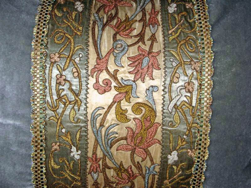 Pair of 19th C. Textile Pillows image 3