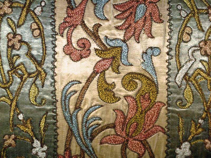 Pair of 19th C. Textile Pillows image 4