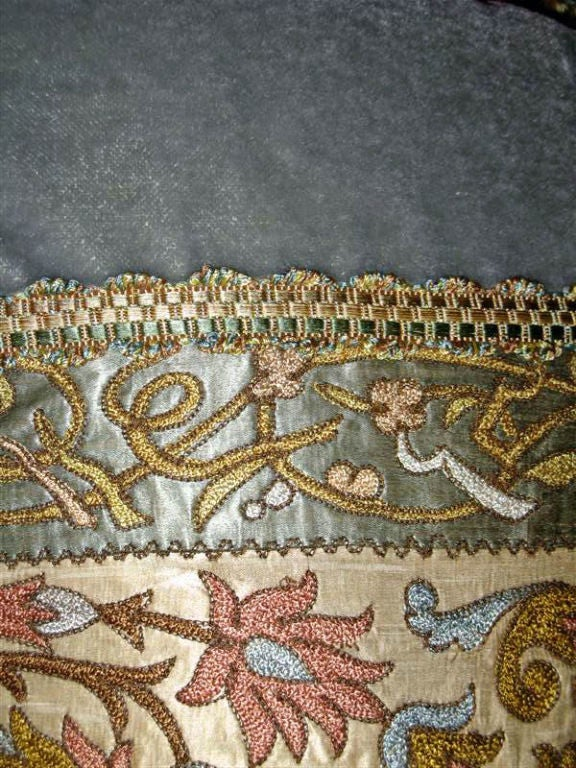 Pair of 19th C. Textile Pillows image 5