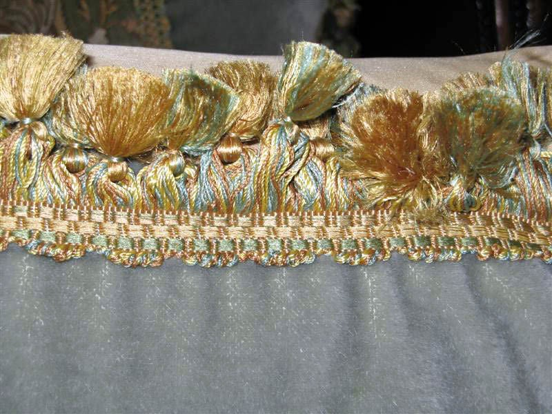 Pair of 19th C. Textile Pillows image 6