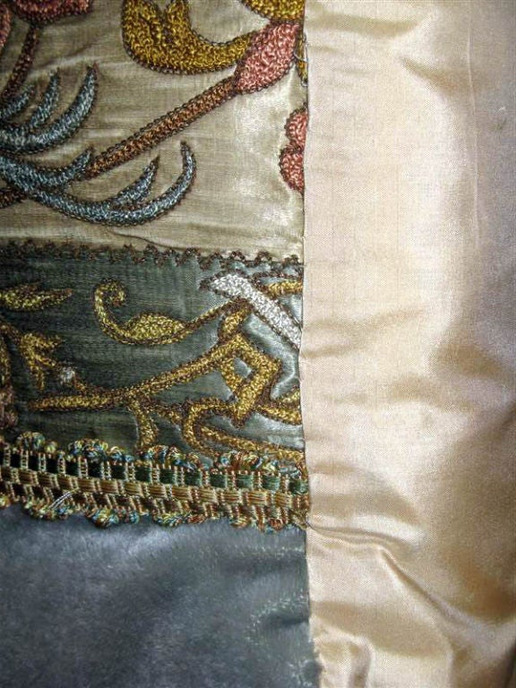 Pair of 19th C. Textile Pillows image 7