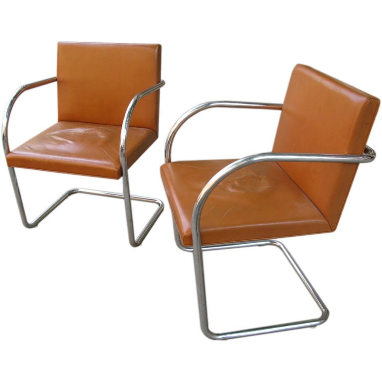 this pair of mies van der rohe brno chairs is no longer available