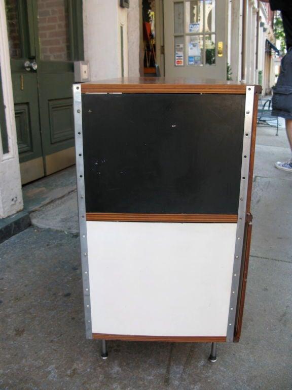 Fiberglass Sliding Doors : Charles eames esu nd series legs with fiberglass sliding