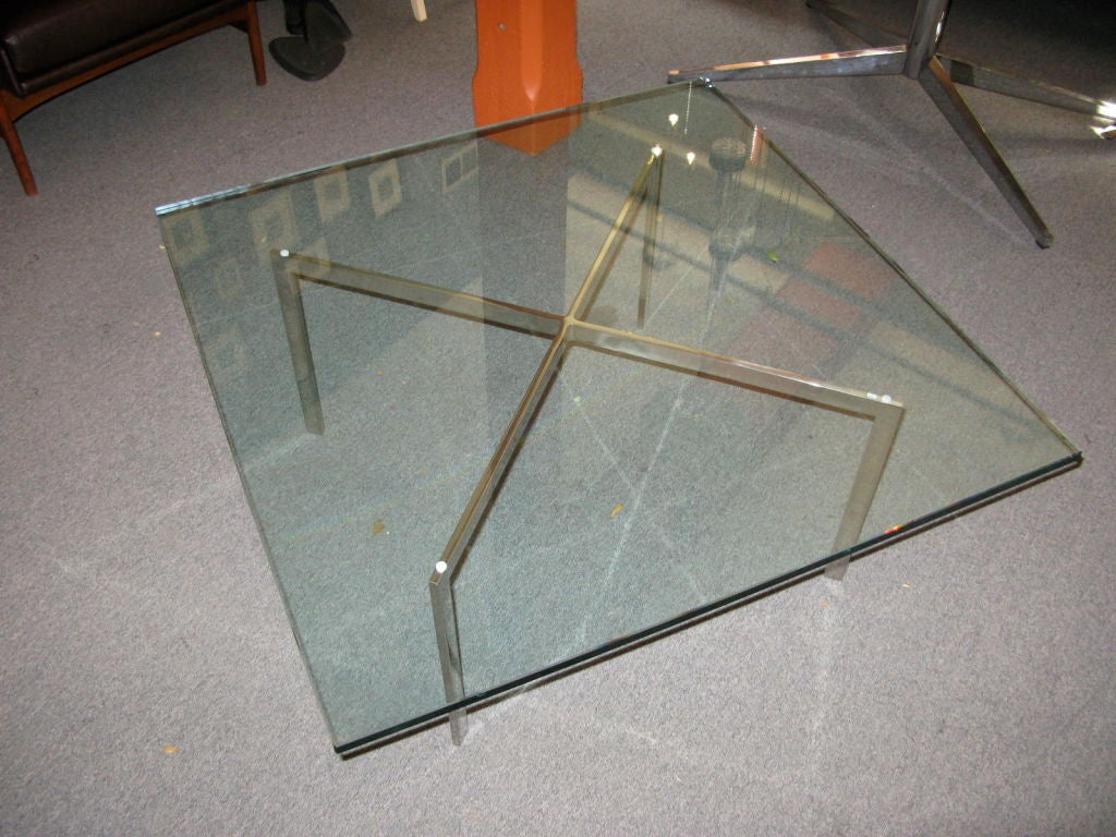 Mies Van Der Rohe Barcelona Coffee Table At 1stdibs