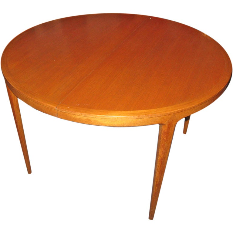 Swedish teak round dining table at 1stdibs : img2174 from www.1stdibs.com size 768 x 768 jpeg 45kB