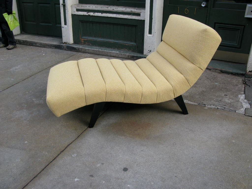 1940 39 s american chaise lounge at 1stdibs for Chaise 1940