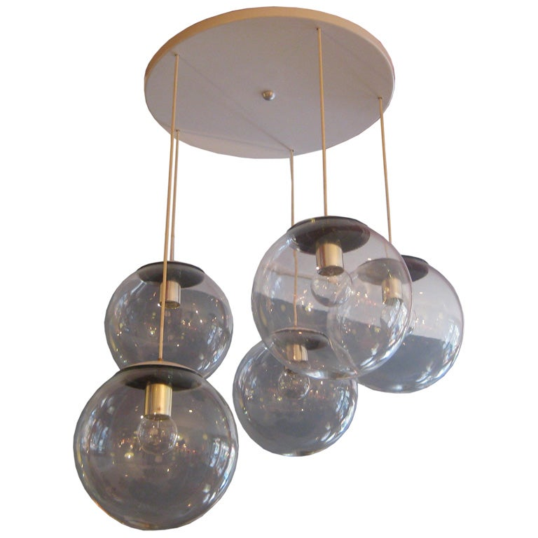 Large Hanging Ceiling Fixture At 1stdibs