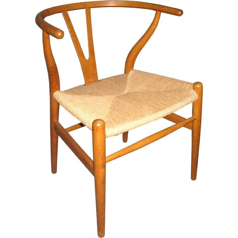 hans wegner y back chairs set of 4 at 1stdibs. Black Bedroom Furniture Sets. Home Design Ideas