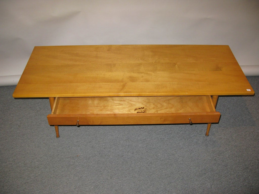 Paul McCobb Coffee Table for Winchendon Furniture Co at