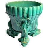 WARDLE Majolica Cache Pot