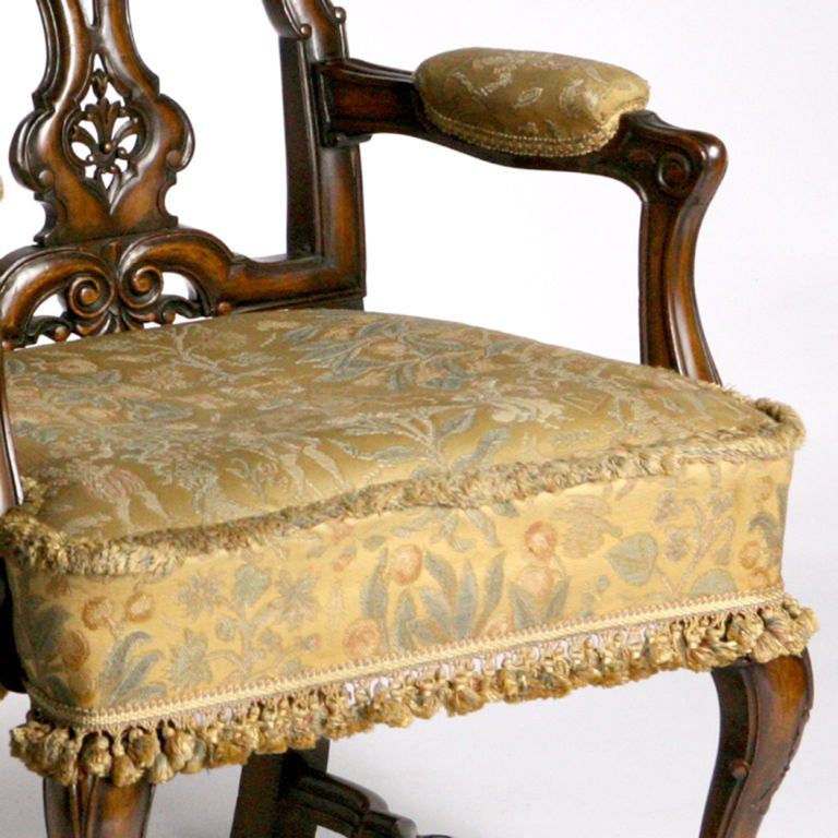 Scottish Library Chair For Sale