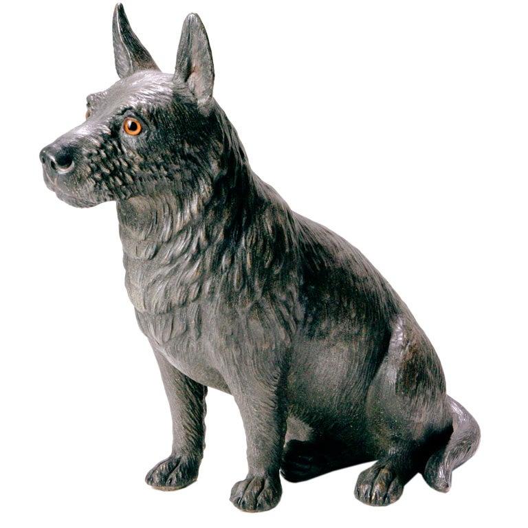 Terracotta Scottie Dog