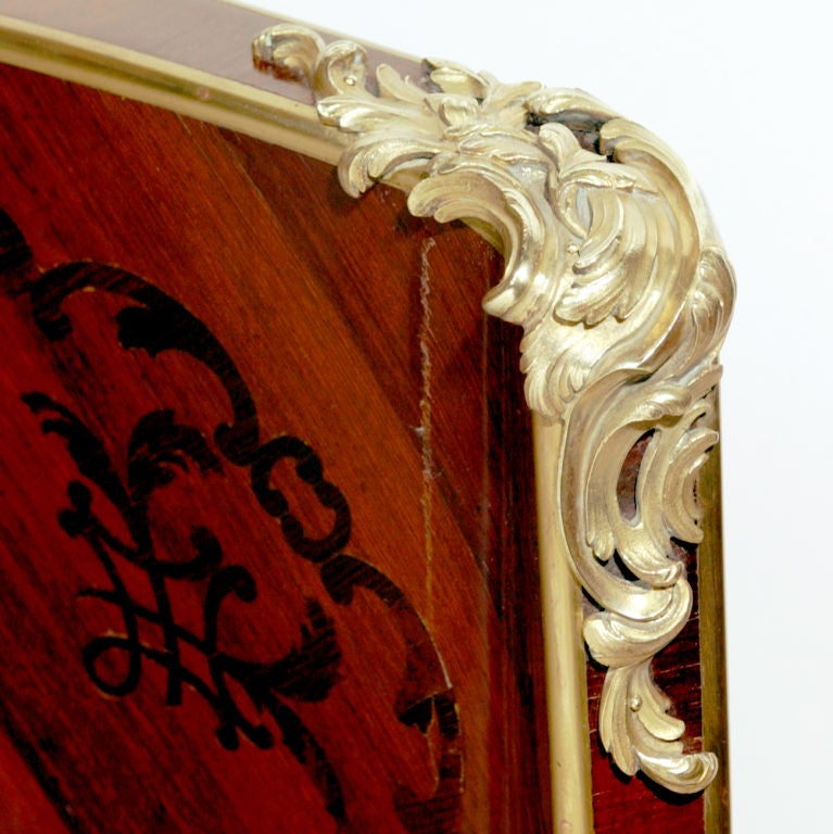 European Rosewood Bed For Sale