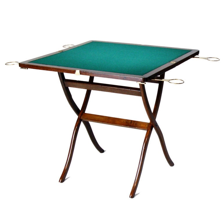 Folding Game Table For Sale