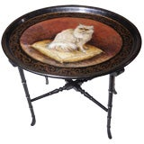 Lacquered Cat Tray