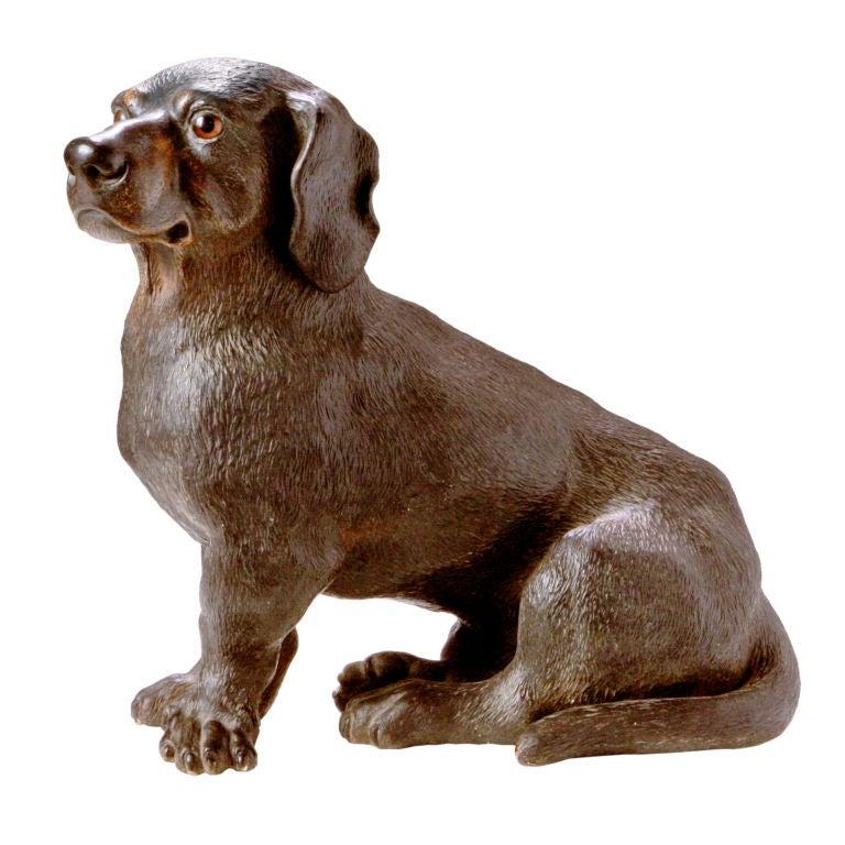 Dachshund Terracotta Dog