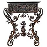 Spanish Wrought Iron Planter
