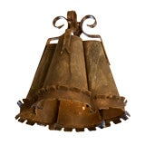 "Handmade Iron ""Crawford"" Pendant Light"