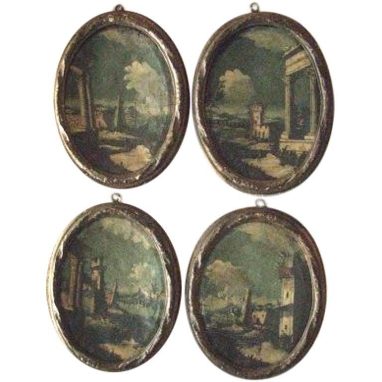 Italian 19th Century Oil Paintings