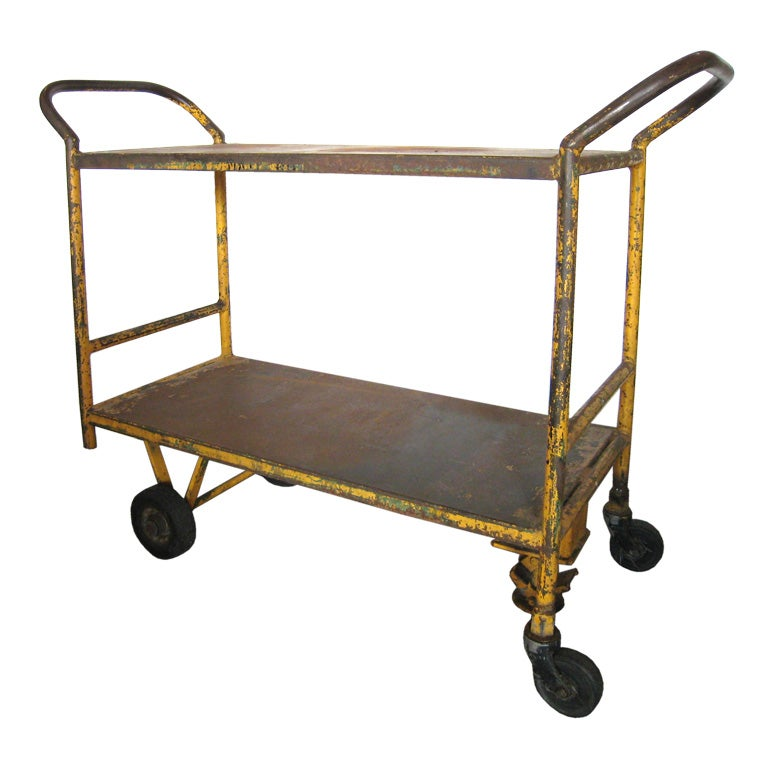 Industrial Cart At 1stdibs