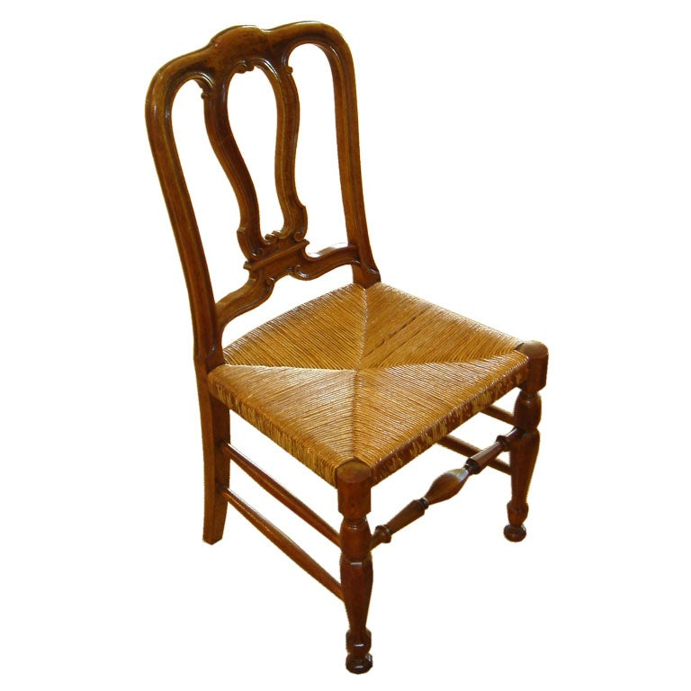 Set of 12 cherry dining chairs at 1stdibs for Cherry dining room chairs