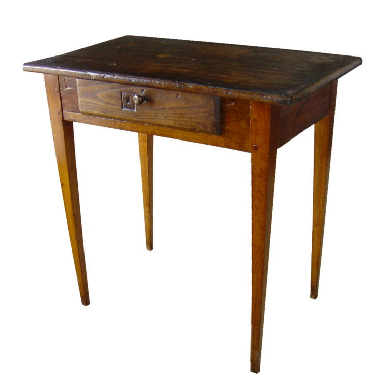Side table with oilcloth top at 1stdibs - Archives departementales 33 tables decennales ...
